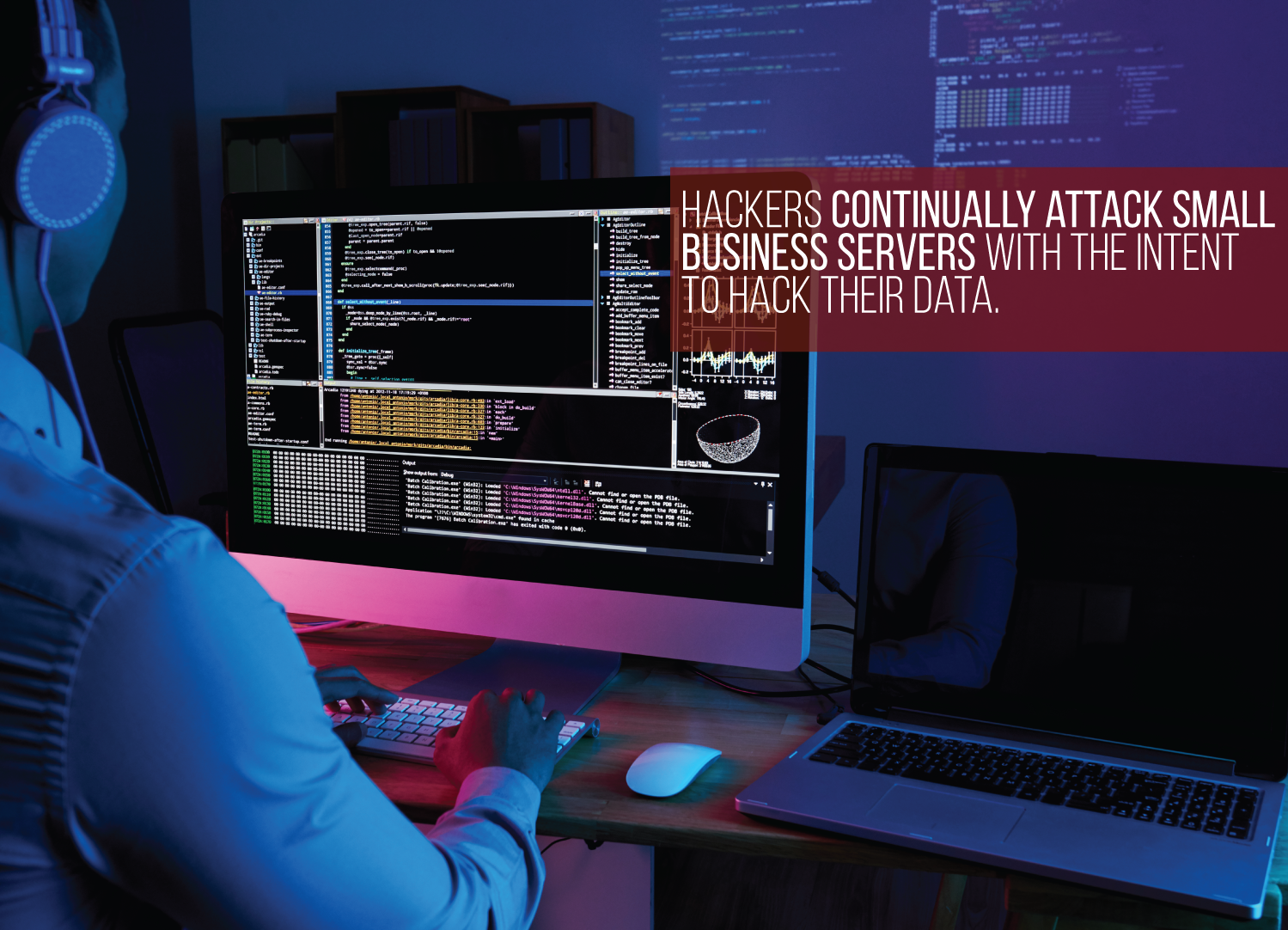 hackers attack small businesses with malware and ransomware