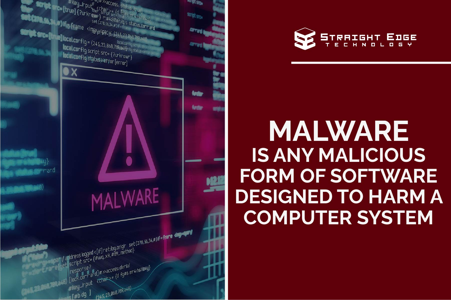 malware is any malicious form of software