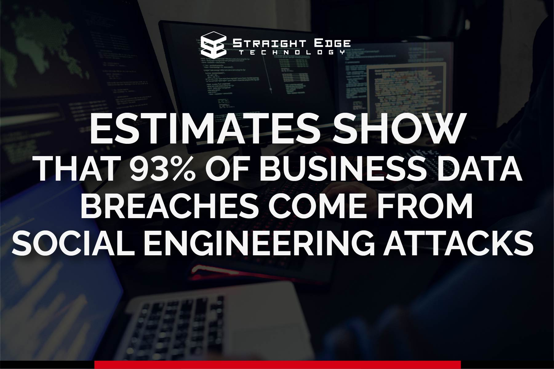 estimates show 93% of business data breaches come from social engineering attacks