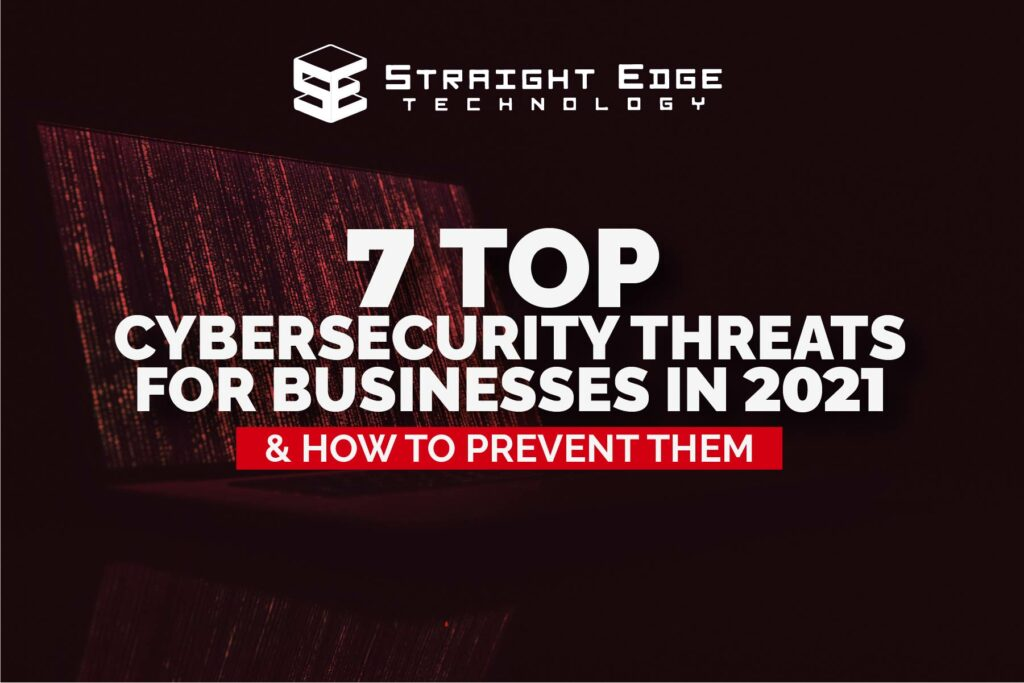 7 top cybersecurity threats for businesses