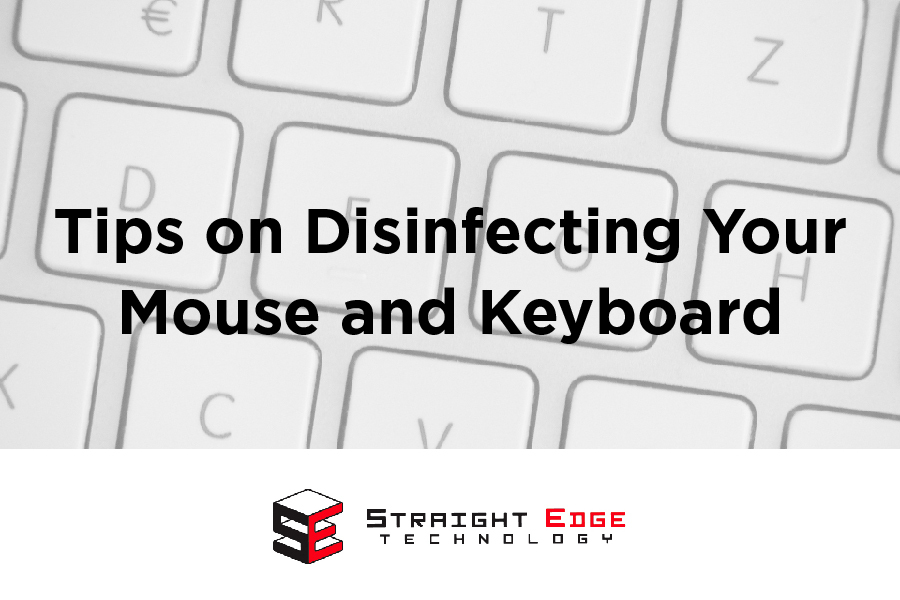 Tips on Disinfecting Your Mouse and Keyboard 1
