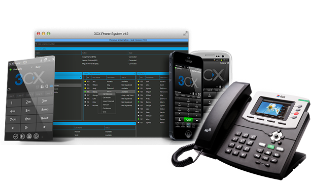 3CX VOIP options