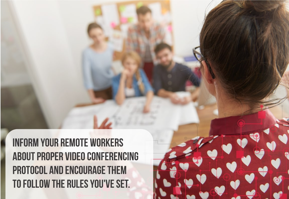 proper video conferencing protocol and training