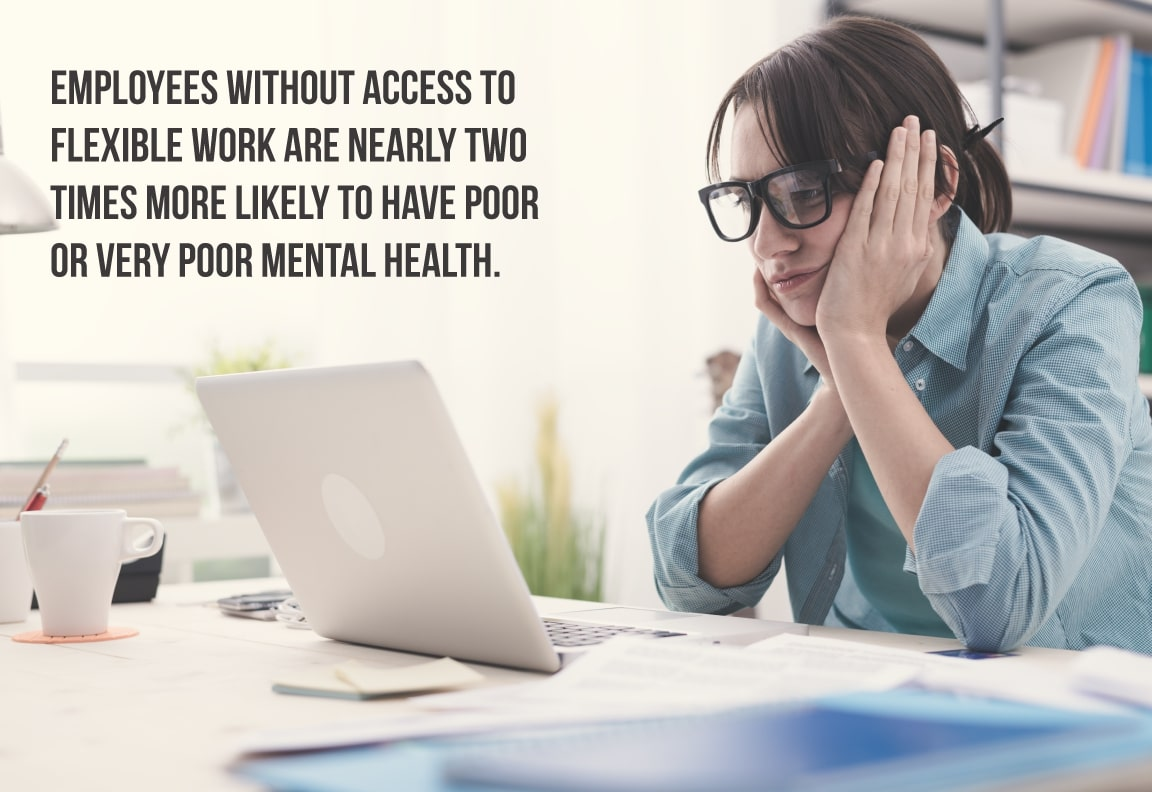 working from home boosts mental health