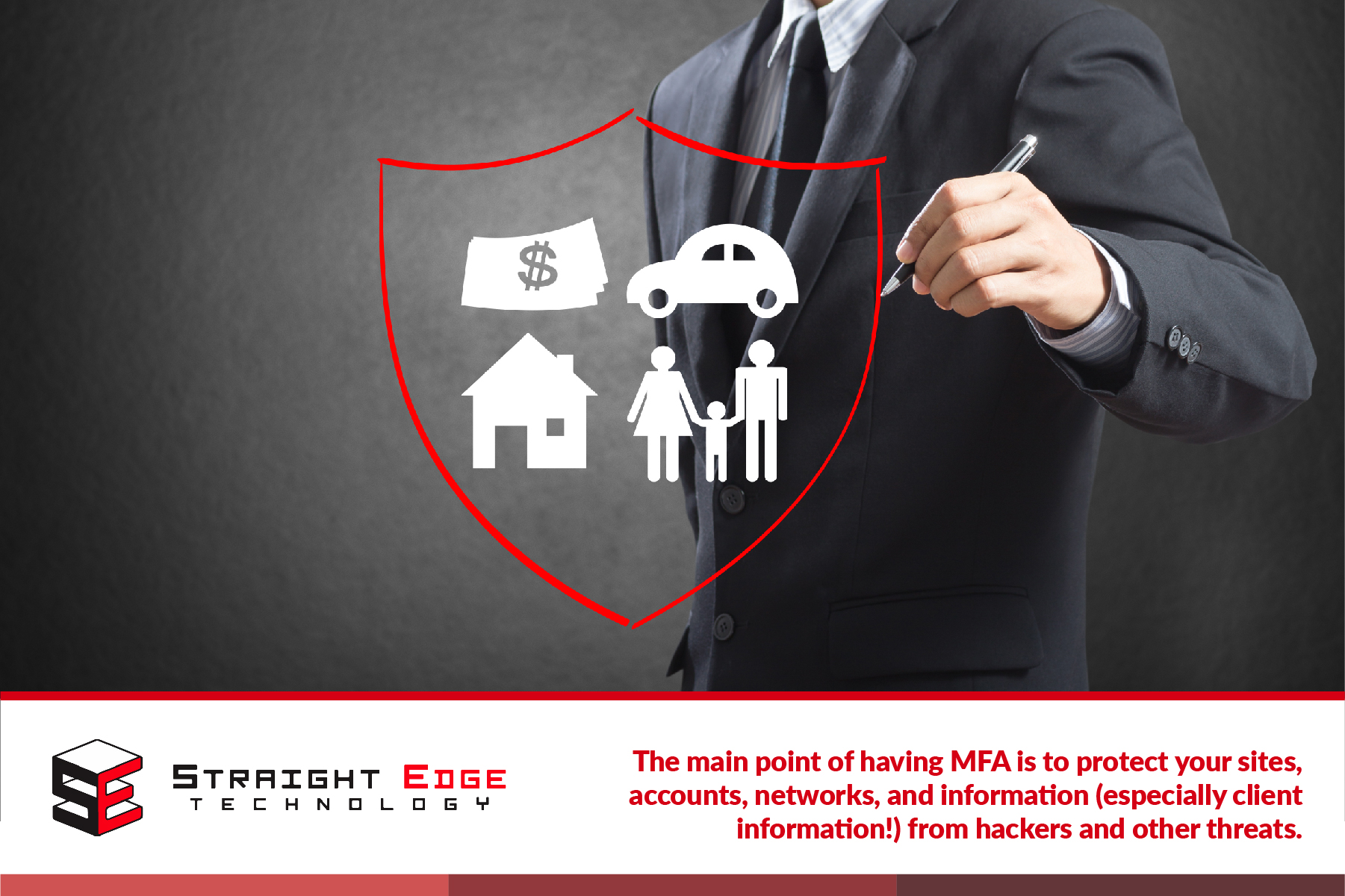 MFA protects sites, accounts, networks, and information