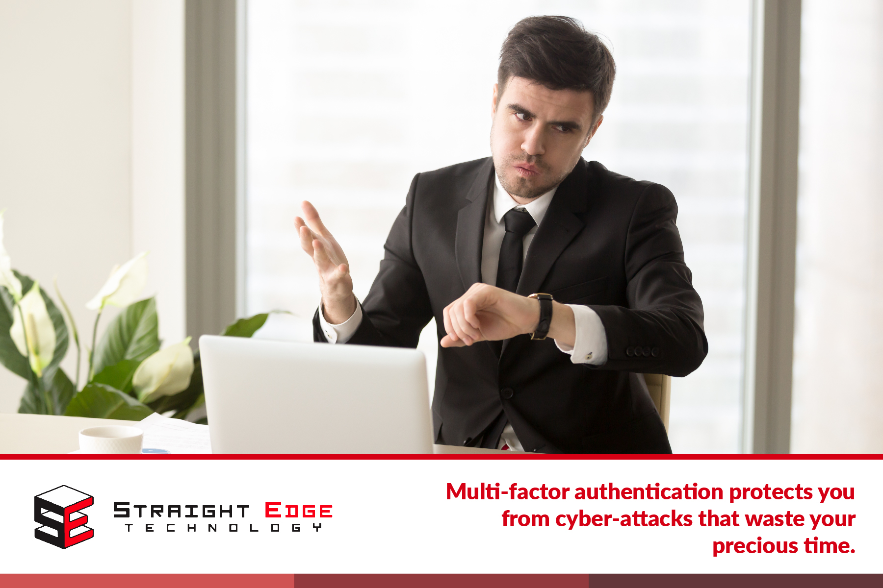 MFA protects you from cyberattacks